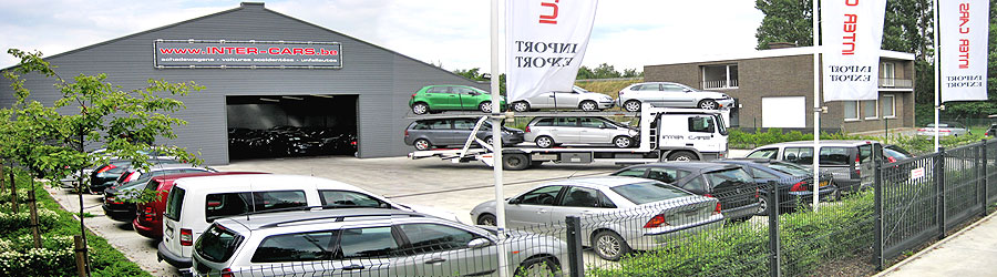 Voitures accident�es en v�hicules r�parables Inter Cars Roeselare.